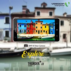 Capture the vivid colours of nature with 8MP camera on your #Videocon Thunder + II V50DC smartphone. Explore - http://www.videoconmobiles.com/thunderplusiiv50dc
