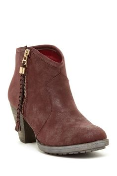 483eae25346eab 30 Bucco Kimana Braided Tassel Ankle Bootie by Carrini on  HauteLook Ankle  Booties