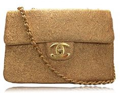 Chanel gold brocade bag, from the 2009 Paris-Moscow collection (or so I believe), rewindvintage.co.uk
