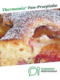 Pyszne ciasto ze śliwkami jest to przepis stworzony przez użytkownika beataszym29@wp.pl. Ten przepis na Thermomix<sup>®</sup> znajdziesz w kategorii Słodkie wypieki na www.przepisownia.pl, społeczności Thermomix<sup>®</sup>.