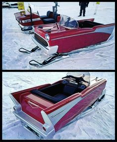 '57 Chevy Snowmobile -Waconia MN