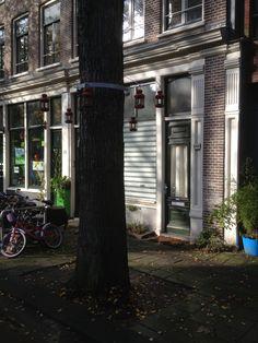 Fun streetlights. Amsterdam, November 2012.