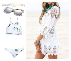 """""""#12 Stayingsummer"""" by almira-mustafic ❤ liked on Polyvore"""