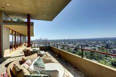 Zac Efron's home in the hills above Los Feliz (Los Angeles, CA).
