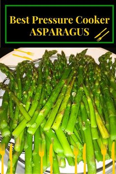 pressure cookerasparagus steamed asparagus vegetable vegetables veggies fast easy healthy lo glycal lunch dinner side fresh spring addin alone Insta Pot Electric Pressure. Slow Cooker, Power Pressure Cooker, Electric Pressure Cooker, Instant Pot Pressure Cooker, Rice Cooker, Electric Cookers, Instant Cooker, Steamed Asparagus, Asparagus Recipe