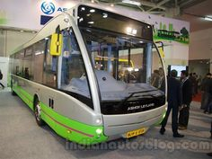 Slideshow : Optare Versa EV electric bus - Ashok Leyland Optare Versa EV electric bus unveiled - The Economic Times