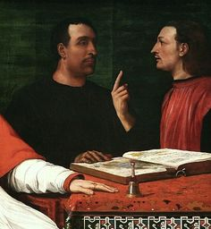 del-Piombo-Cardinal-Bandinello-Sauli-His-Secretary-and-Two-Geographers-Detail-geographers.jpg (457×497)