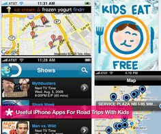 iPhone Apps to Have Handy During Road Trips With Kids