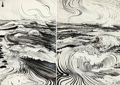 The Divided Unity- Brett Whiteley | ART: SKETCHES ...