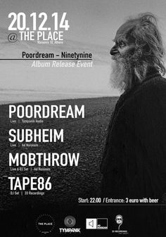 December 20th: Subheim and Mobthrow live in Athens. More information: http://www.adnoiseam.net/live-shows/dec-20-subheim-mobthrow-in-athens-gr
