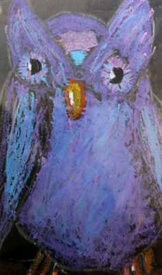 Manatee County Schools Exhibit. On display until June 19th. Over 200 pieces by our students! Owl by Jadeyn