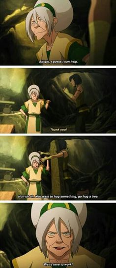 I love old lady toph