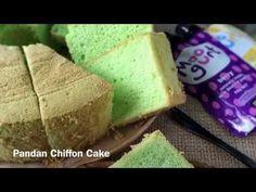 Pandan Chiffon Cake - 香兰戚风蛋糕 Nothing beats a slice of comfort homemade Pandan Chiffon Cake (香兰戚风蛋糕) to cheer up my boy whenever he is . Pandan Chiffon Cake, Pandan Cake, Brownie Muffin Recipe, Muffin Recipes, School Cake, Singapore Food, Cake Youtube, Cornbread, Berries