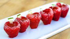 Strawberry Daiquiri Jello Shots Recipe - Tablespoon.com