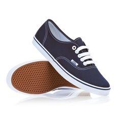 Vans Shoes - Vans Authentic Lo Pro Womens Shoes - Navy/True White   £44.99