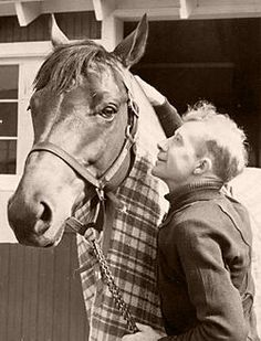 Red Pollard with Seabiscuit....the best underdogs :)