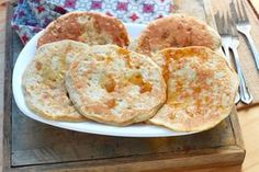 """offers the recipe """"Gluten-free pancakes with only 3 ingredients"""" rated / 5 by 103 voters. Gluten Free Pancakes, Gluten Free Treats, Gluten Free Recipes, Crepes And Waffles, Banana Pancakes, Healthy Breakfast Snacks, Breakfast Recipes, Wrap Recipes, Gourmet"""