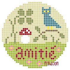"""4 petits diagrammes """"Amitié""""amitié2017 07PCB"""
