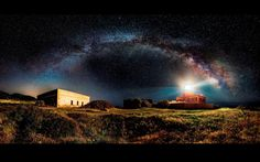 Panorama: Ivan Pedretti,/Italy/lighthouse in Capo Spartivento, south Sardinia, at 4am/2014 Sony Photographic Awards