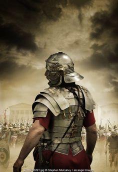A Roman Centurion © Stephen Mulcahey / Arcangel Images