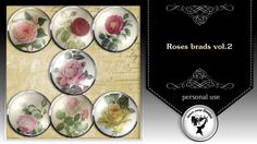 Roses brads vol.1 by Black Lady Designs