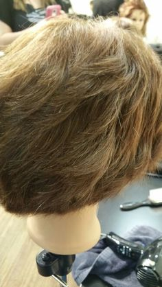 Textured blow out
