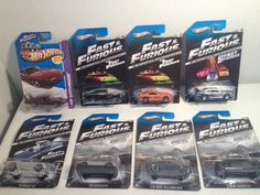 2013 Hot Wheels / Fast and Furious cars: Supra, Skyline Charger, GTR, Super Bird | eBay