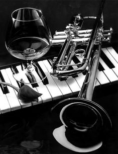 ❤One Rare Treasure❤ Black White, White Art, Foto Portrait, Jazz Art, Jazz Club, Music Pictures, Random Pictures, Jazz Musicians, Sound Of Music