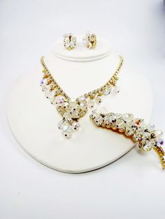 Juliana Delizza and Elster D & E Crystal Rhinestone by STLvintage