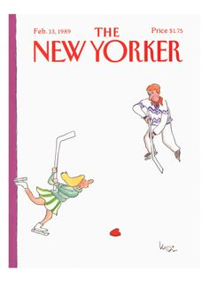 The New Yorker Cover - February 13, 1989 Giclee Print by Arnie Levin at Art.com