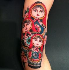 My russian nesting dolls -Done by Frank Grimes @ Gastown Tattoo… | My Tattoo