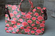 An elegant distinguishing rose print, this Alex Donkey Weekender by Lou Harvey is the perfect companion for the summer. See more at louharveycanada.ca Different Patterns, Different Styles, Donkey, Weekender, Diaper Bag, Elegant, Rose, Summer, Bags