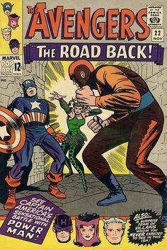 Avengers # 22 by Jack Kirby & Wally Wood