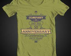 designs t shirts company anniversary tees