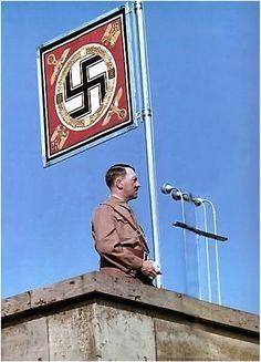 Hitler orating through the years.