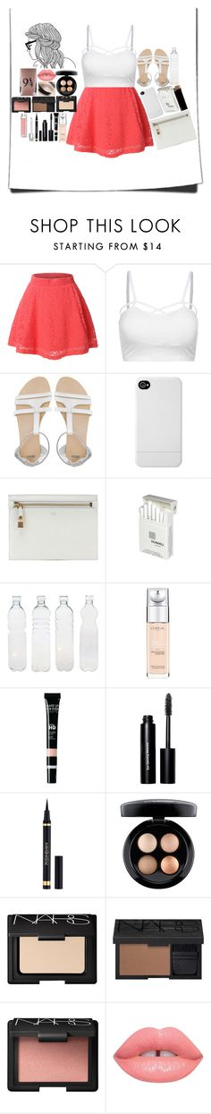 """""""never asking for your help, independent woman"""" by hula-hoop ❤ liked on Polyvore featuring LE3NO, ASOS, Incase, Tom Ford, Dunhill, Seletti, L'Oréal Paris, MAKE UP FOR EVER, Bobbi Brown Cosmetics and Yves Saint Laurent"""