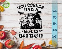 Halloween Gifts, Happy Halloween, Halloween Party, Cricut Vinyl, Svg Files For Cricut, Disney Gift, Disney Disney, Hocus Pocus Disney, The Worst Witch
