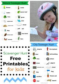 No Wooden Spoons: Photo Scavenger Hunt for Kids {Free Printables}
