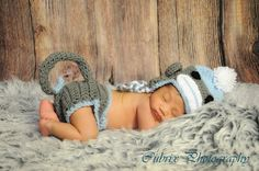 Love this....Boy sock monkey hat and diaper cover set by cherryscan on Etsy, $19.00