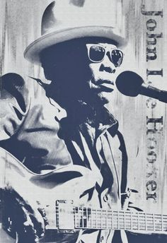 John Lee Hooker Blues Musician Guitar songwriter by StoneyPrints, $20.00