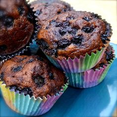 """Paleo Blueberry Lemon Muffins   """"These were so amazing that I immediately made a second batch. You have to try these today!"""
