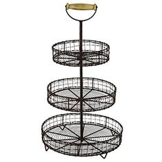 Antique Style Metal Wire 3 Tier Rack Display Stand Basket Rustic Farmhouse Decor, http://www.amazon.com/dp/B014OCWKZM/ref=cm_sw_r_pi_awdm_x_R12Wxb65WWQDP