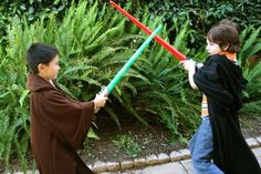 Jedi Robe -- the boys are going to need these