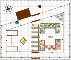 Garden Plan - Micro Farm Double Low Fence