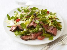 Make this Grilled Steak Salad with a homemade dressing for a quick and healthy meal.