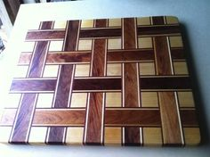 Awesome weaving cutting board and howto by degoose