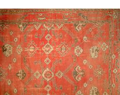 ORI 55594D | Stark antique rug large scale 17x20