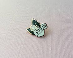 disney inspired hidden mickey floral rose gold and white flowers hard enamel mini pin