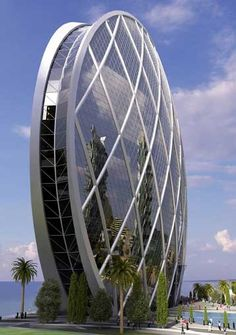 Awesome Architecture !!! (10 Stunning Snapshots), Office building Abu Dhabi.