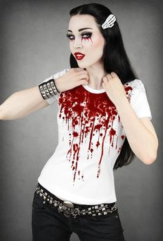 Bloody Zombie top